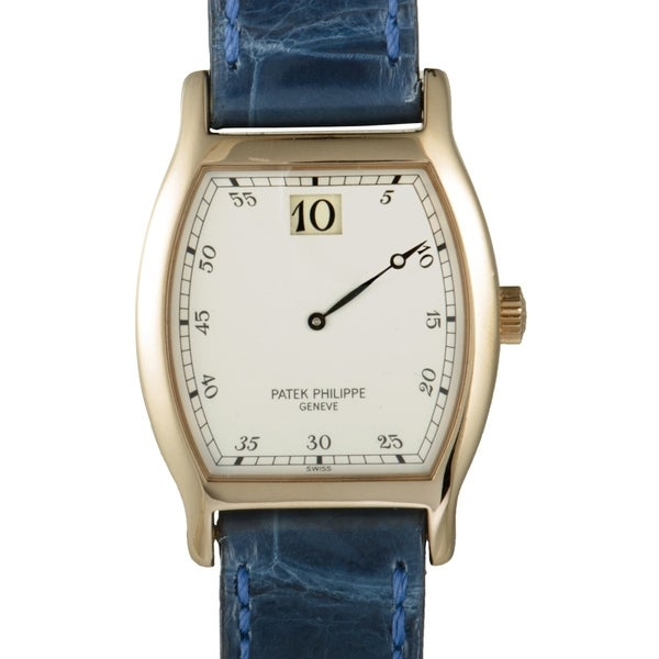 Patek Philippe Jump Hour Anniversary Watch 3969
