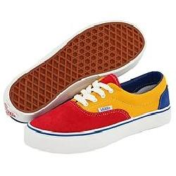 Vans Kids Era™ (Toddler/Youth) (OTW Pack) Red/Gold Fusion Athletic