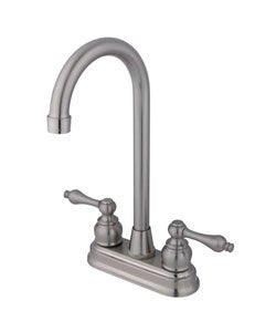 Victorian Satin Nickel Bar Faucet