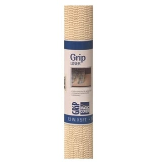 Magic Cover Non-Adhesive Grip-Natural Counter Top, Drawer & Shelf Liner, 12''x5', Pack of 6 - 12'' x 5'