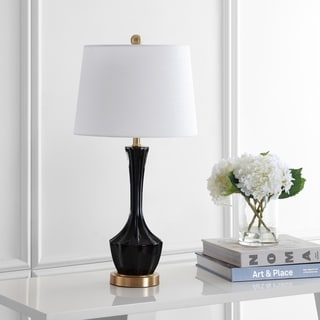 "Safavieh Lighting 28-inch Ronan LED Table Lamp - 14""x14""x28"""