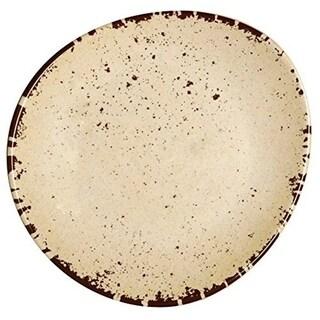 Melange 6-Piece 100% Melamine Dinner Plate Set