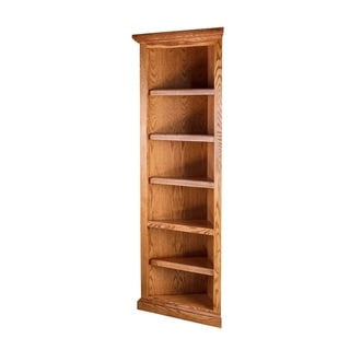 Traditional Corner Bookcase
