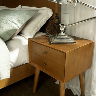 Landon Night Stand in Acorn