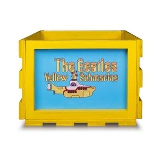 Record Storage Crate The Beatles Yellow Submarine