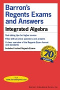 Barron's Regents Exams and Answers: Integrated Algebra (Paperback)
