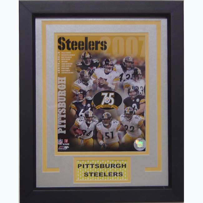 Pittsburgh Steelers 2007 Deluxe Frame