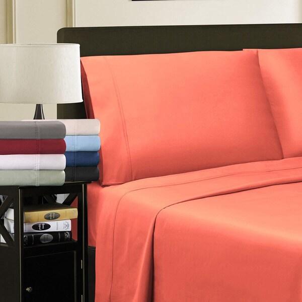 Egyptian Cotton 800 Thread Count Solid Pillowcase Set