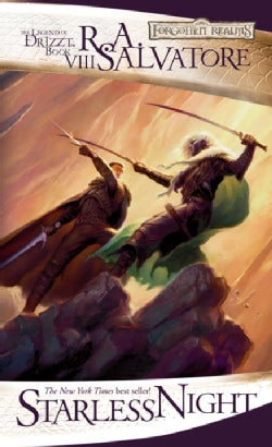 Starless Night: The Legend of Drizzt Book 8 (Paperback)