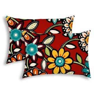 WILD GARDEN Indoor/Outdoor Pillow - Sewn Closure (Set of 2)