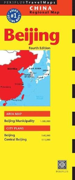 Periplus Travel Maps Beijing (Paperback)