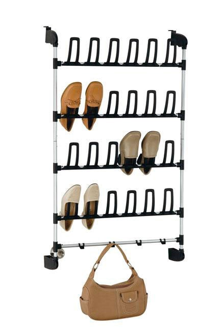 Over The Door 12-pair Shoe Rack