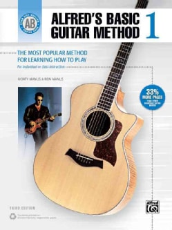 Alfred's Basic Guitar Method 1 (Paperback)