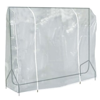 6 Ft Transparent Clothes Rail Cover Gament Coat Hanger Protector Storage