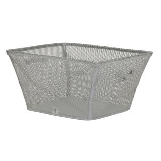 Eva Mesh Laundry Basket, Gray 11.5H X 23W X 18D