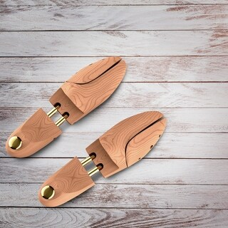 Bluestone Cedar Adjustable Shoe Tree Shape Holder 2-way Stretcher for Men