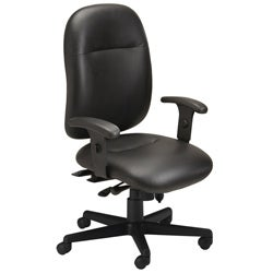 Mayline Comfort Series 24-hour Leather Chair