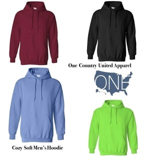 One Country United Men's Hoodies Soft & Cozy Hooded Sweatshirts