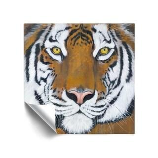 ArtWall Tiger Gaze Removable Wall Art Mural
