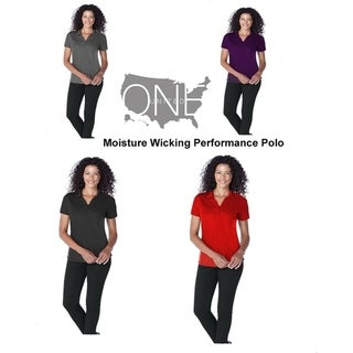 One Country United Women's Moisture Wicking Performance Polo