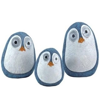 Porch & Den Haney Solar Birds with Light up Eyes (Set of 3)