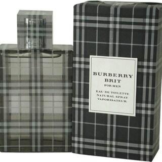 Burberry Brit Men's 1.7-ounce Eau de Toilette Spray