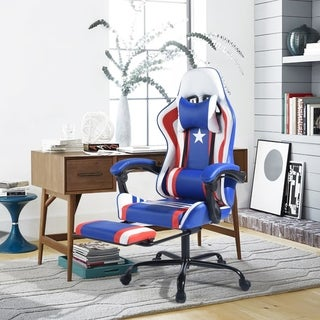 Porch & Den Racely Adjustable High-back Swivel Gaming Chair