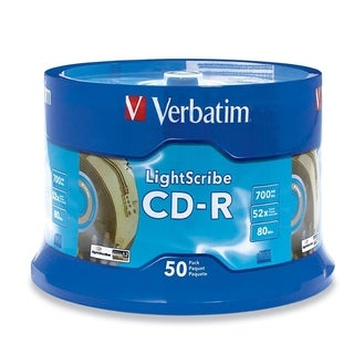 Verbatim LightScribe 52x CD-R Media