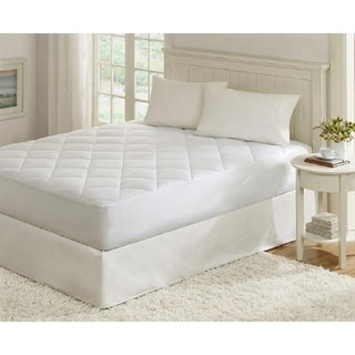 Quilted Fitted Down Alternative Hypoallergenic Mattress Pad Protector