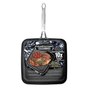 Granite Stone Diamond Grill Non-stick Triple Layer Titanium - 10.5