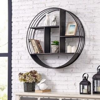 "FirsTime & Co.® Brody Industrial Circular Shelf - 28"" x 6"""