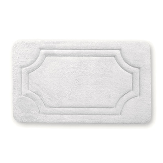 Porch & Den Dereck Antique White Water Shielded Memory Foam Bath Rug - 1'9' x 2'10'