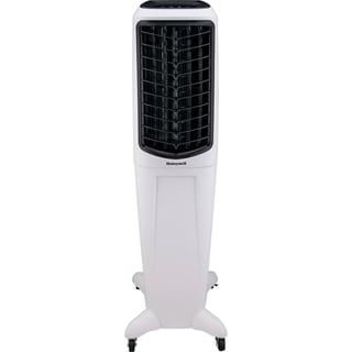 Honeywell 588 CFM Indoor Evaporative Air Cooler (Swamp Cooler) with Remote Control in White