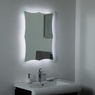 Nikita LED Bathroom Mirror 23.6 x 31.5in Bathroom Mirror - Silver - 31.5x23.6x1