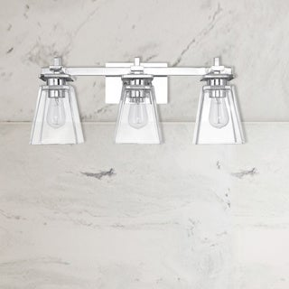 Porch & Den Cleary Chrome All-in-one 5-piece Bathroom Set