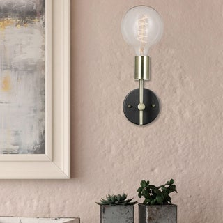 Porch & Den Chrysler 1-light Plug-in or Hardwire Wall Sconce