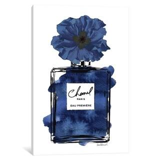 "iCanvas ""Perfume with Black & Blue Flower"" by Amanda Greenwood"
