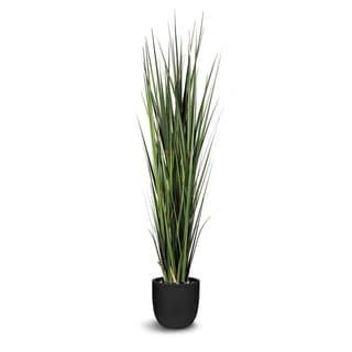 Artificial Green Onion Grass Faux Botanical Plant