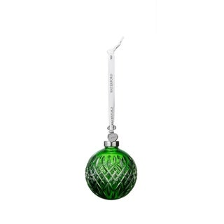 Crystal 2019 3.2-inch Ball Christmas Ornament