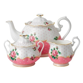 Cheeky Pink 3-piece Tea Set