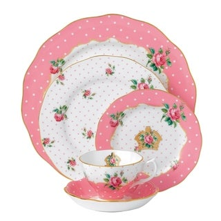 Cheeky Pink 5-piece Place Setting