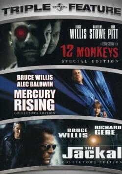 12 Monkeys/Mercury Rising/The Jackal (DVD)