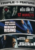 12 Monkeys/Mercury Rising/The Jackal (DVD)