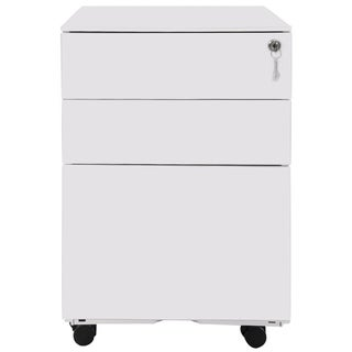 Porch & Den Burlheights Mobile File Cabinet with 3 Drawers