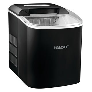 Igloo ICEB26BK 26-Pound Automatic Ice Cube Maker - Black