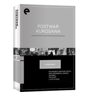 Eclipse Series 7 - Postwar Kurosawa (DVD)