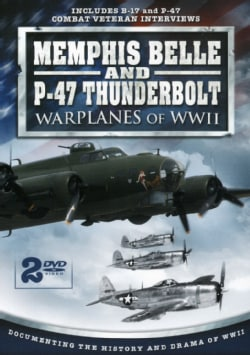 Memphis Belle And P-47 Thunderbolt War Planes Of WWII (DVD)