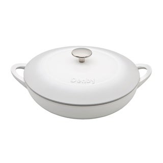 Denby Natural Canvas Cast Iron 3.8L Shallow Casserole Dish