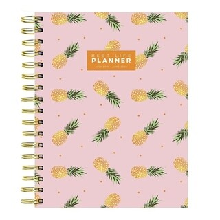 July 2019 - June 2020 Academic BEST LIFE Weekly Monthly Luxe Hardbound Planner