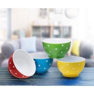 Everyday Ceramic Bowls - 20 oz. Set of 4